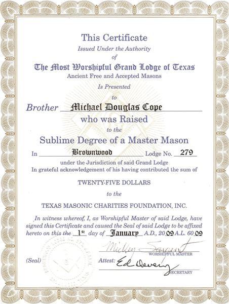Certificate (Medium)