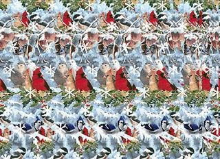 Magic-Eye-3D-Christmas-Scene