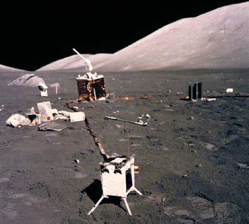 moon landing site junk - photo #19